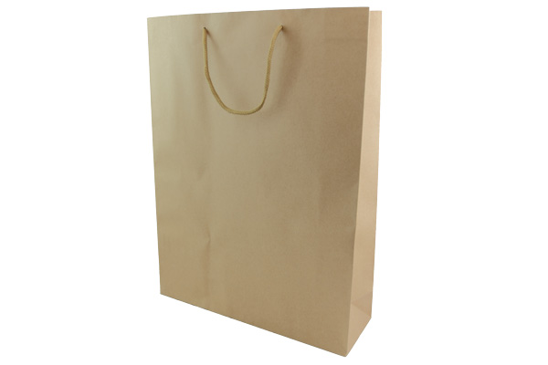 Large Brown Kraft Gift Paper Bags pack of 24. Dimensions - 31.5cm(W) x 42cm(H) x 10cm(G).