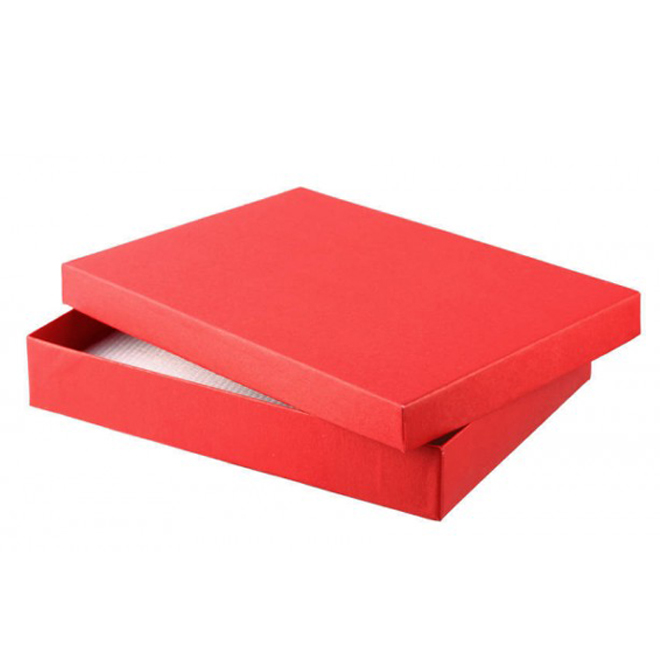 Pack of 6 Red Set Gift Boxes 130mm(W) x 180mm(L) x 30mm(H).