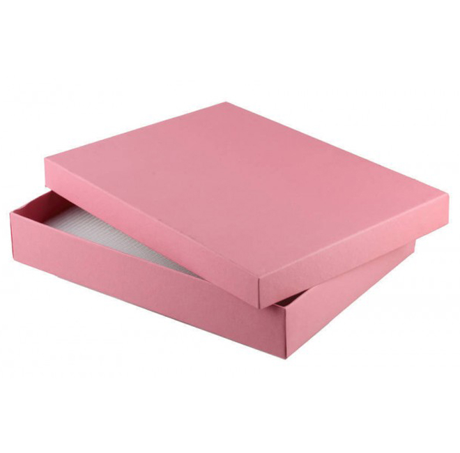 Pack of 6 Pink Set Gift Boxes 130mm(W) x 180mm(L) x 30mm(H).