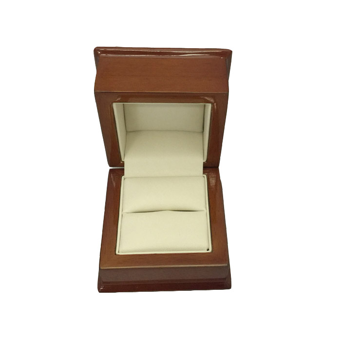 Premium Wooden Ring Gift Box - Dim 65w x 65d x 50mm(h)