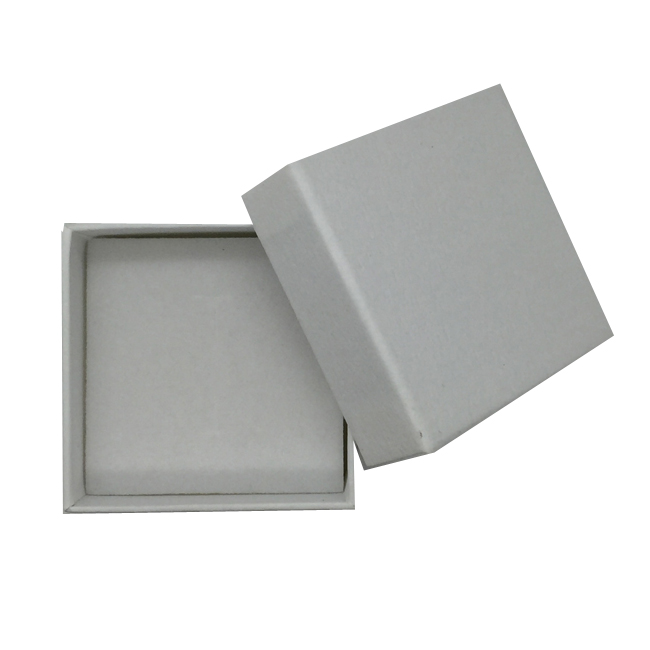 Packet of 15 Thick Premium Cardboard Ring Gift Boxes in White. Pack of 15. Dim 55x55x35mm