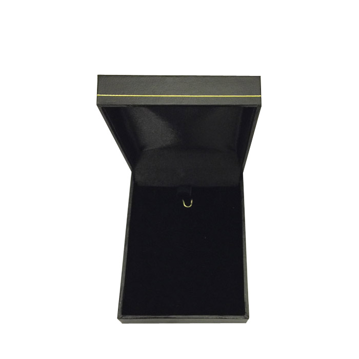 Price for 1 Premium Black Leatherette Earring and Pendant Gift Box. Dim 64(w) x 82(d) x 25mm(h).
