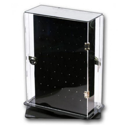 Belly Ring Display Cabinet. Double sided Rotates and Lockable.