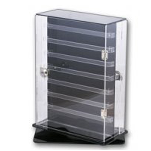 Earring Display Cabinet. Double Sided. Rotates and Lockable