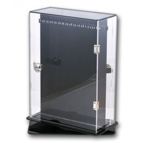 Chain Display Cabinet Lockable and Rotatable