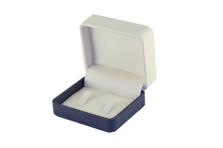 1 x His and Her Ring Gift Box Leatherette. Also Suitable For Cuff Links. Dim 75 x 65 x 37mm.