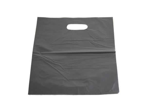 Pack of 100 Large Black Plastic Bag. Dimensions 350mm(W) x 450mm(H).