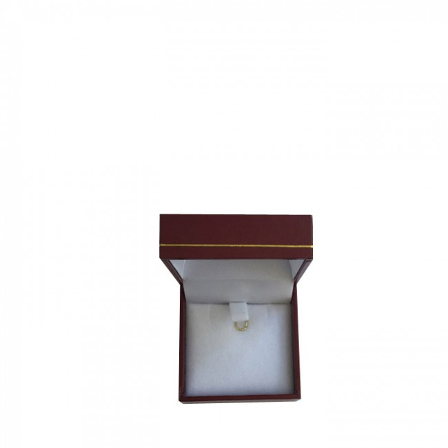 Price for 1 x Small Premium Burgundy Leatherette Earring and Pendant Gift Box. Dim 50(w) x 50(d) x 28mm(h).