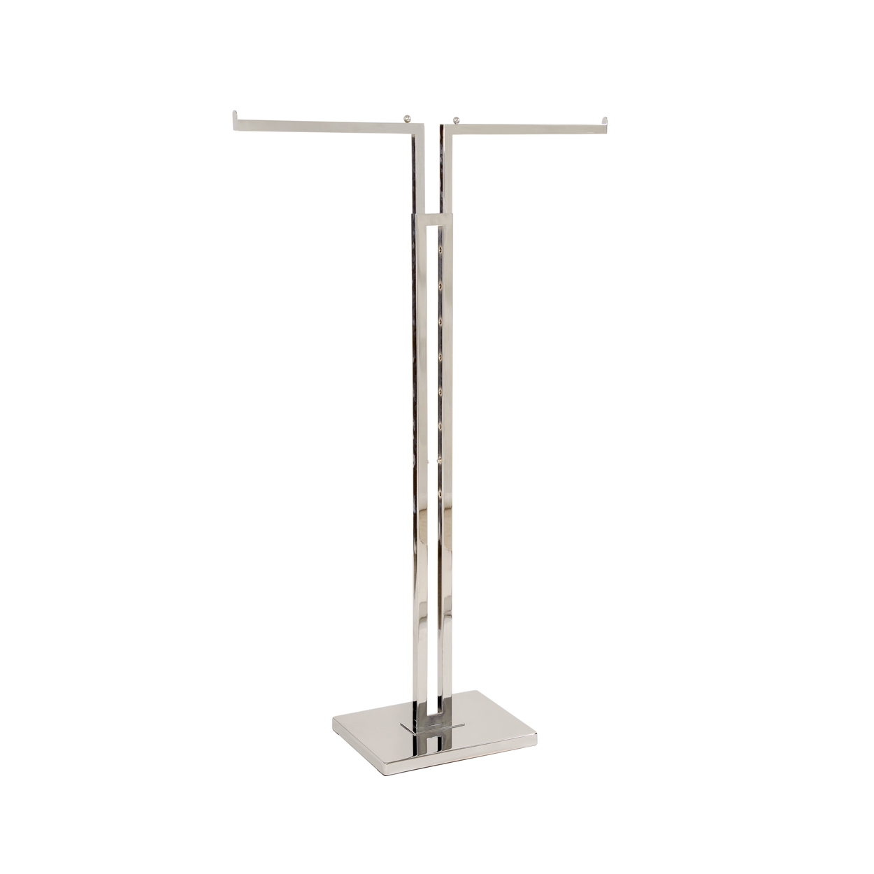 2 Way Clothes Rack Kit. Dimensions - Height 1180mm x Width 380mm x Depth 305mm x Length (Straight Arms): 405mm