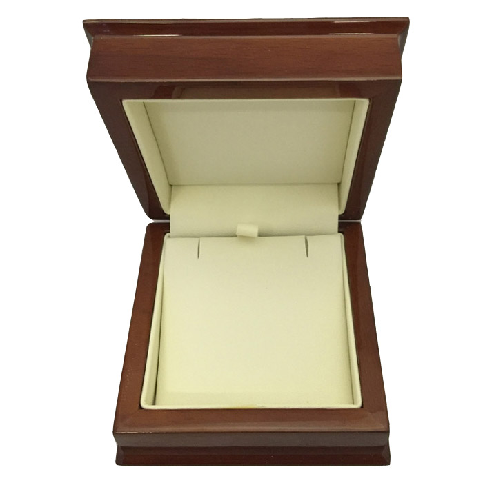 Premium Wooden Large Earring or necklace and Pendant Gift Box - Dim 85w x 85d x 40mm(h).