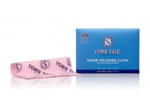 Bulk Pack of 12 Mr Town Talk – Original Silver Cloth 12.5 x 17.5cm. For Silver and Stainless Steel