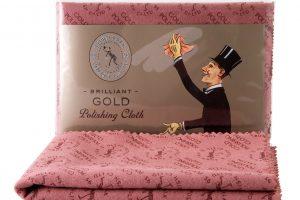 town talk impregnated gold polishing cloth 30x45cm