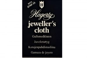 Hagerty Jewellery Care - Jeweller's Cloth, 30cm x 24cm