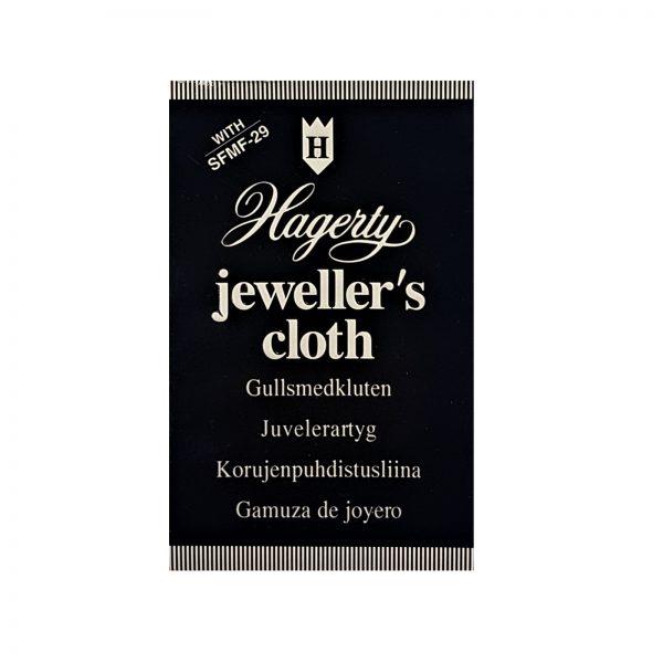 Hagerty Jewellery Care - Jeweller's Cloth, 30cm x 24cm